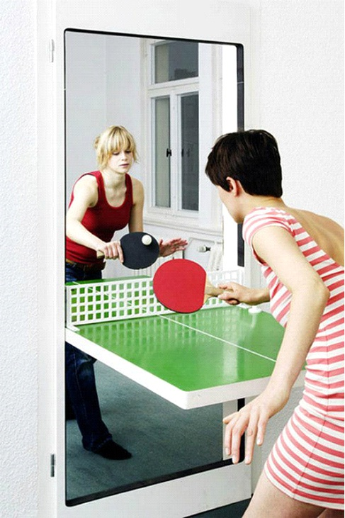 Door Ping Pong Table-Awesome Home Interior Designs Ever