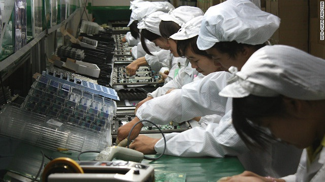 Chinese labor-Mind Blowing Secrets About Apple That You Don't Know