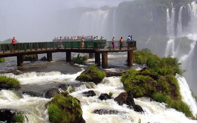 Iguazu Falls-Breathtaking Viewing Platforms Around The World