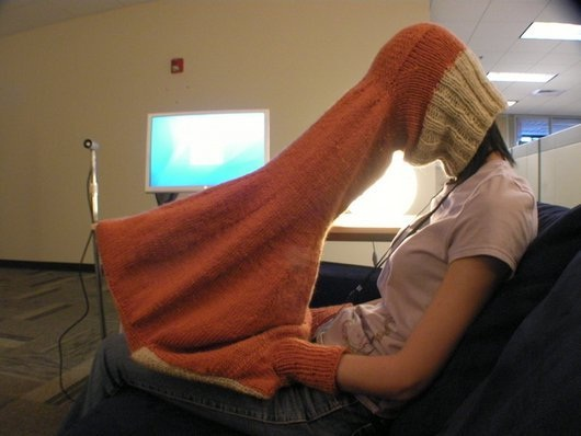 Is your jumper stuck?-This Week's WTF Photos