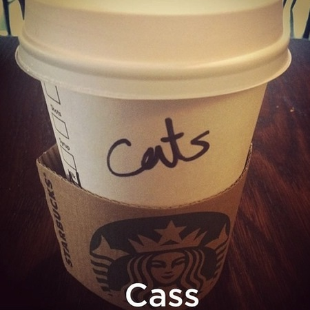 Cats is close enough-Funny Starbucks Cup Spelling Fails