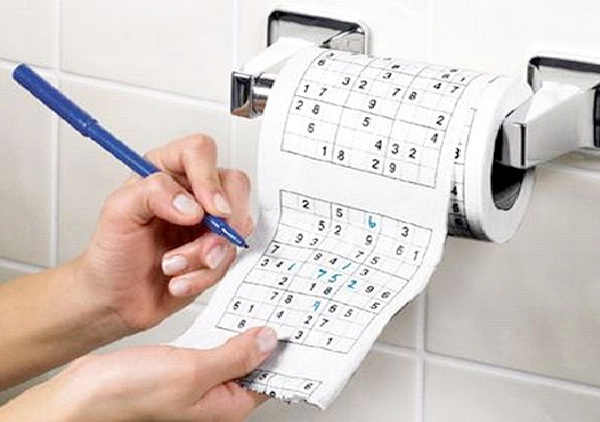 Sudoko-Weirdest Toilet Papers