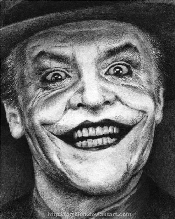 Older Joker-15 Best Joker Drawings That Give You Nightmares