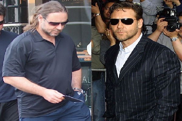 Russel Crowe-Celebs Who Lost Weight