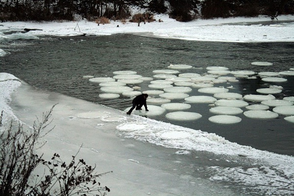 Ice circles-Most Fascinating Natural Phenomena