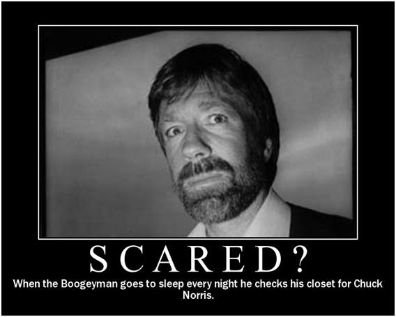 Boogeyman vs. Chuck Norris-12 Hilarious Chuck Norris Memes Ever