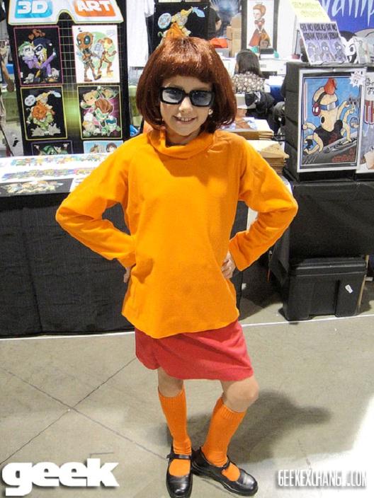 Kiddie Velma-24 Best Scooby Doo Cosplays Ever