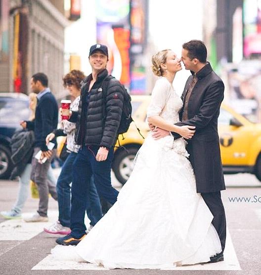 Well Hello Newlyweds-Best Wedding Photo Bomb