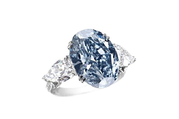 Ring: Chopard Blue Diamond $16.26 mill-Most Expensive Things In The World