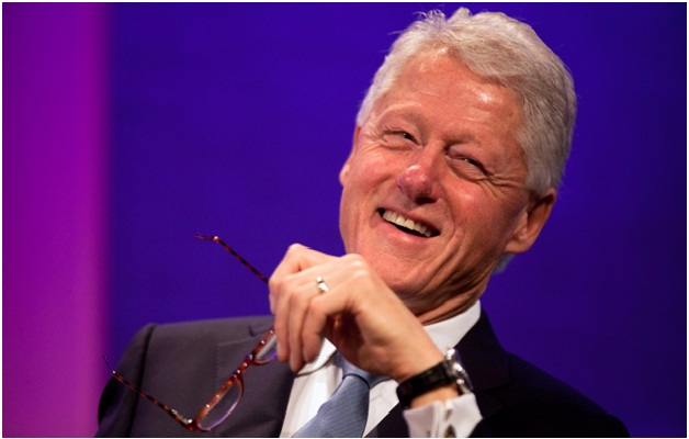 Bill Clinton-12 Celebrities You Probably Don't Know Are Vegans