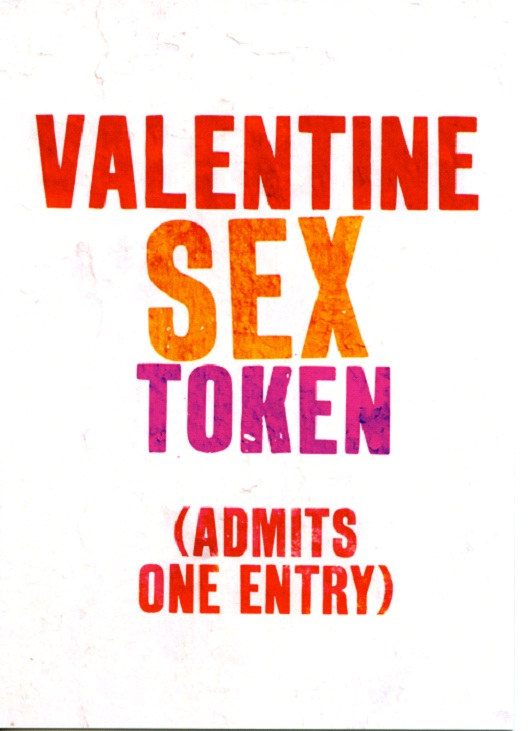 sex Token-Valentine's Day Cards That You Should Not Give Your Partner