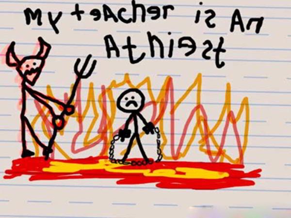 Teachers pet-12 Most Disturbing Drawings By Kids
