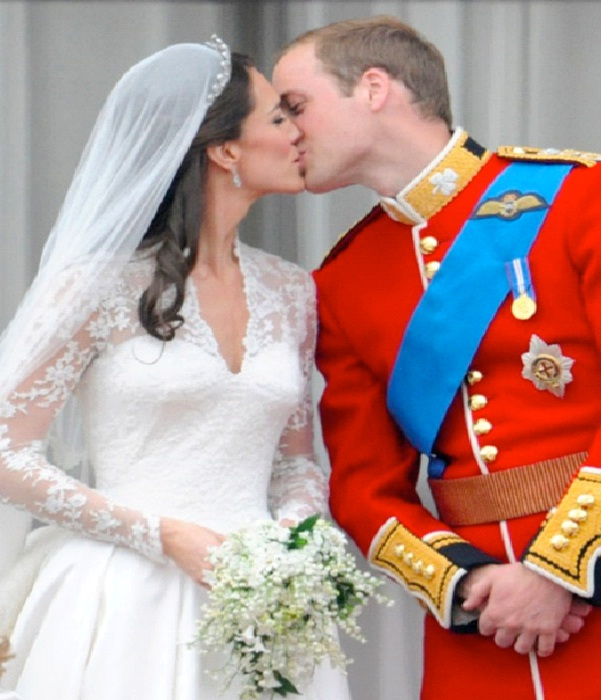 Prince William & Kate Middleton - $34 Million-Most Expensive Weddings Ever