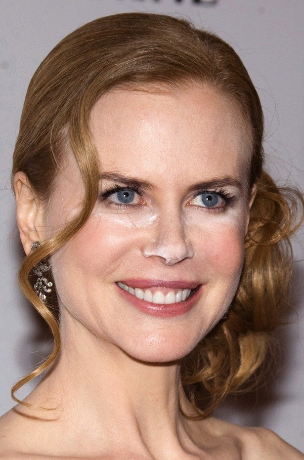 Worst Makeup Worn By Hollywood Celebrities Adorable She: Nicole Kidman-Worst Celebrity Makeup Disasters