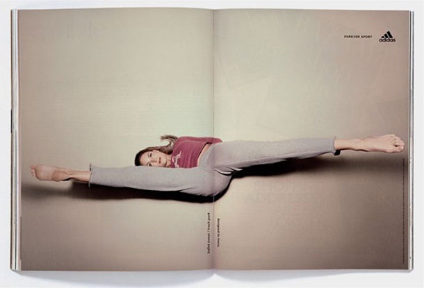 An opening-Creative Fitness And Yoga Ads