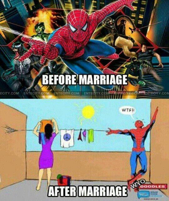 Different uses-12 Hilarious Before And After Marriage Pictures