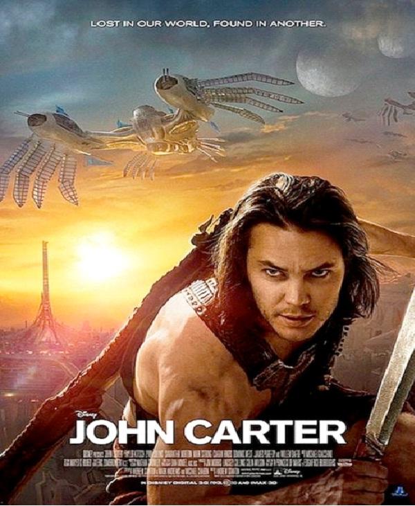 John Carter - $250M-Most Expensive Films Till Now