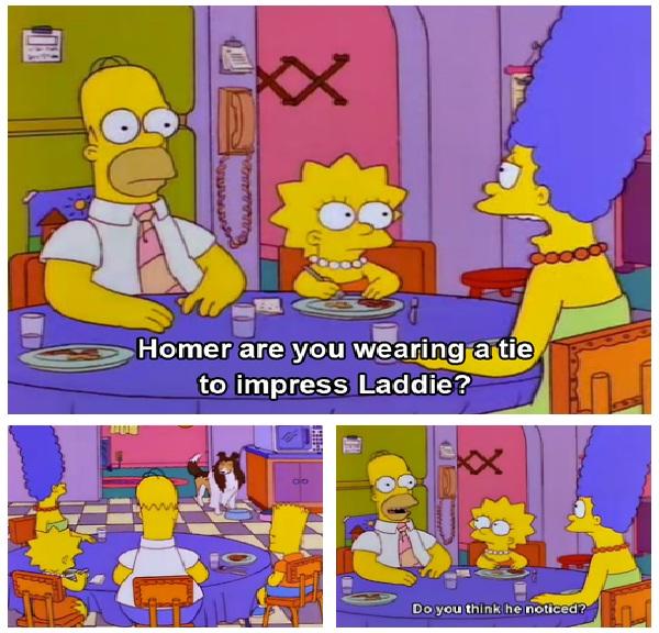 The tie-Best Simpsons Quotes