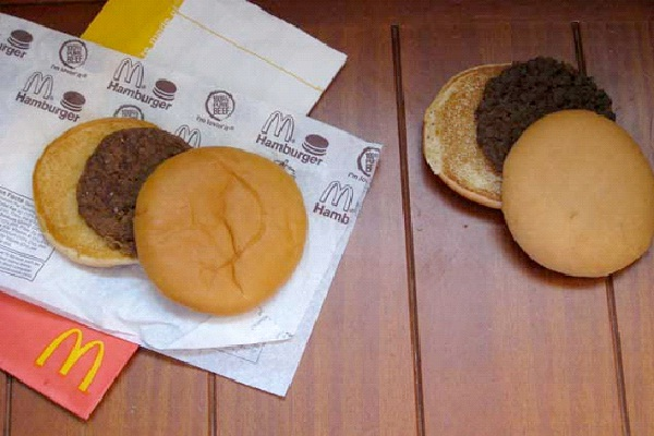 Burgers Will Never Rot-Reasons Why You Should Not Eat At McDonalds