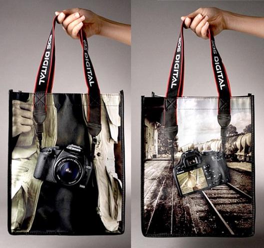 Digital Camera-24 Most Creative Bag Ads