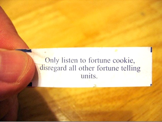 Only Listen To Fortune Cookies-Hilarious Fortune Cookies