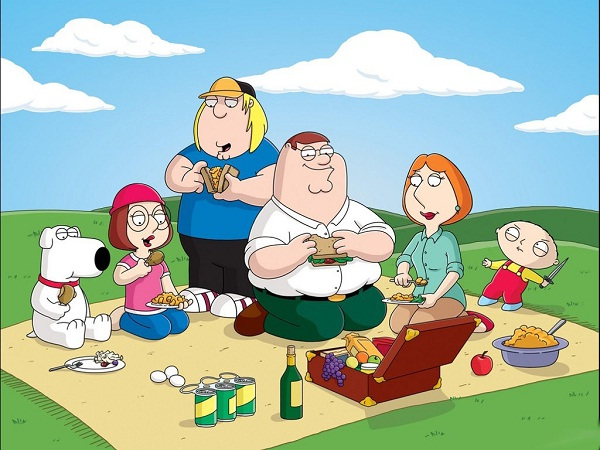 Family Guy-12 Most Racist TV Shows Ever Made