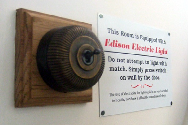 The Power of Edison-Craziest Light Switches