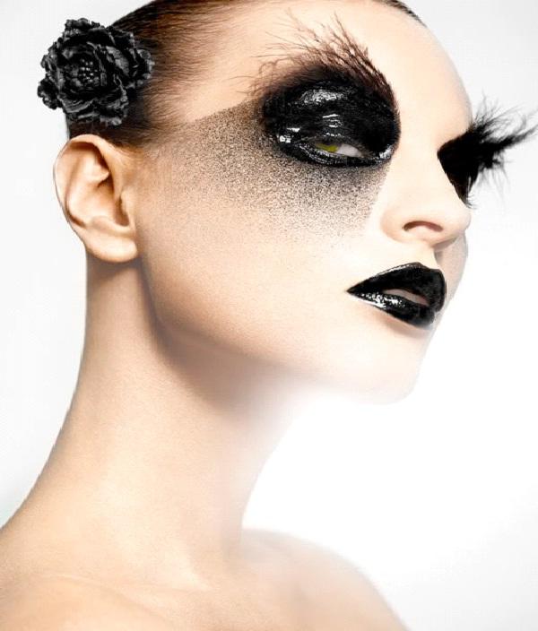 Black Swan-Crazy Eye Make Up