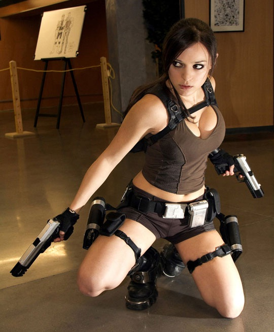 A different tomb raider-Best Cosplays By Girls