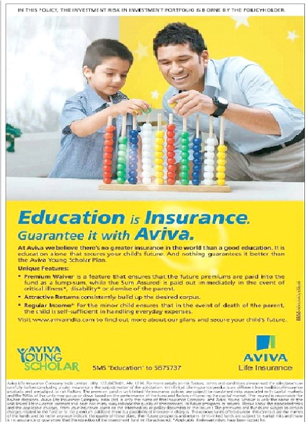 Aviva Insurance - $13.4M-Most Costliest Advertisements Till Now