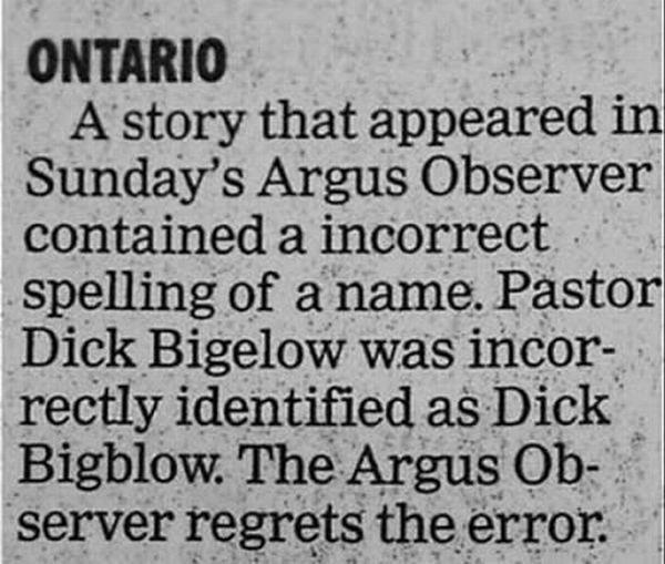 Poor Dick-Hilarious Public Apologies