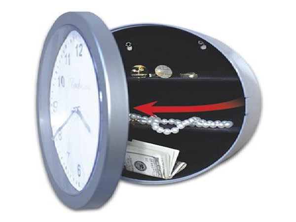 Watch that clock-Most Clever Safes To Protect Your Money
