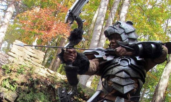 Skyrim nord bow-Virtual World Weapons In Reality