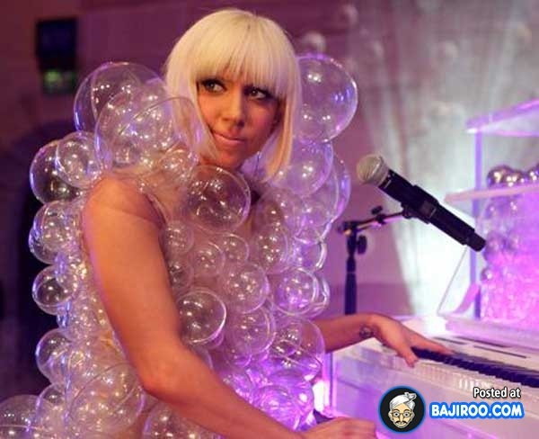 The bubble dress-Worst Lady Gaga Outfits