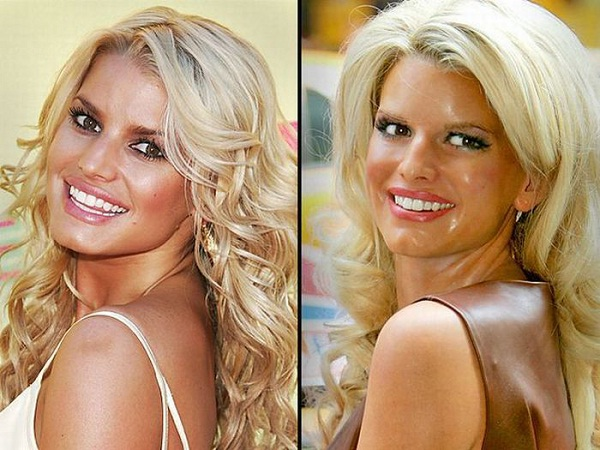 Jessica Simpson-Celebs With Their Wax Statues