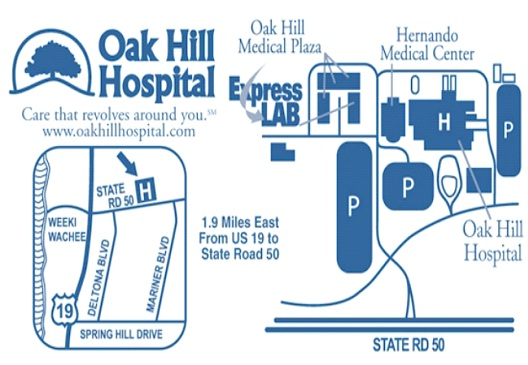 Oak Hill Hospital - Spring Hill, Florida-Most Expensive Hospitals In The World