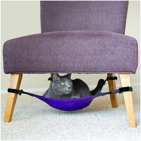 Cat Crib Hammock-Pet Friendly Furniture Ideas