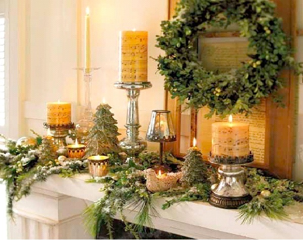 Music Note Candles-Christmas Decoration Ideas