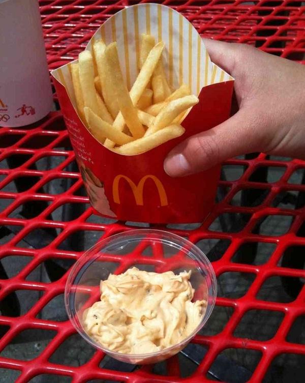 Special sauce-McDonald's Secret Menu Items You Didn't Know