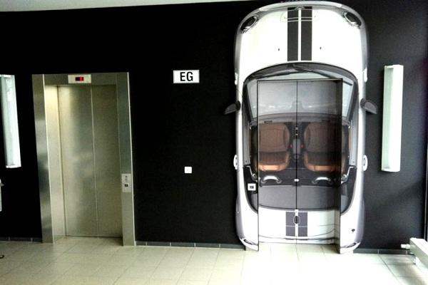 Vroom Vroom-Creative Elevator Ads