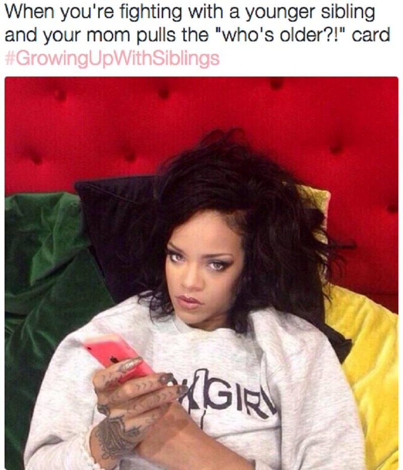 The Grand Old 'Who's Older' Card-15 Hilarious Images You Can Relate To If You Have Siblings