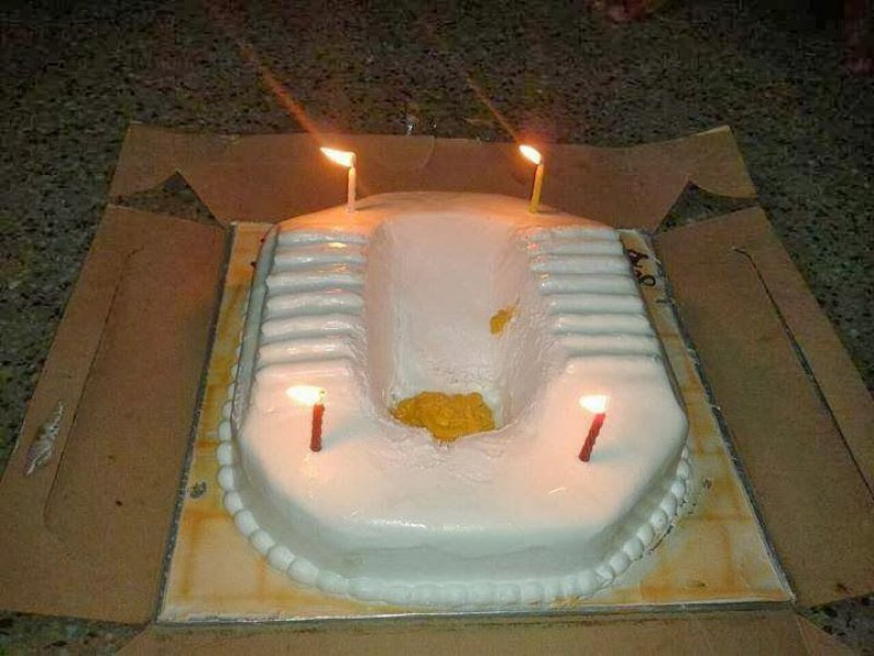 Asian Toilet Cake-15 Most Disgusting Yet Hilarious Cake Fails Ever
