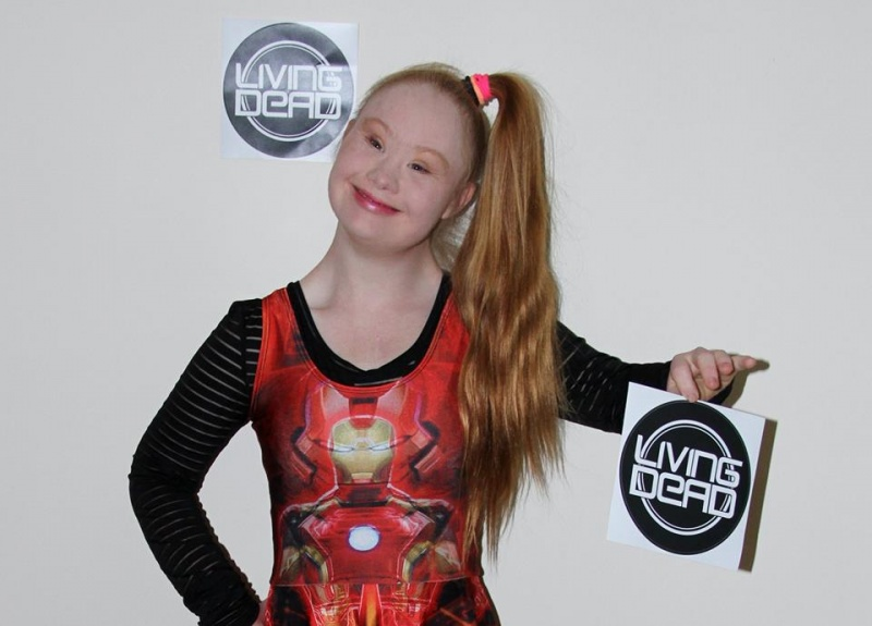 Jamie Brewer is Her Inspiration-Meet Madeline, A Teen Model With Down Syndrome
