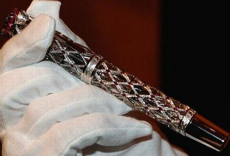 Prince Rainer III LImited Edition 81 Pens - 0,200-12 Most Expensive Pens In The World