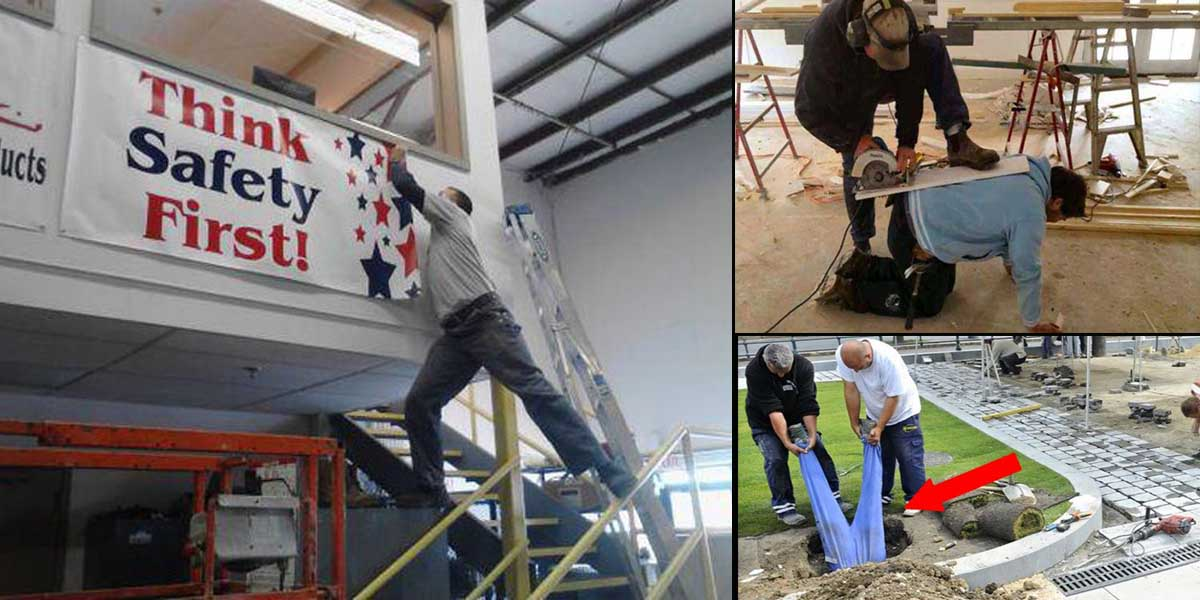 15 Workers Who are Doing it Totally Wrong