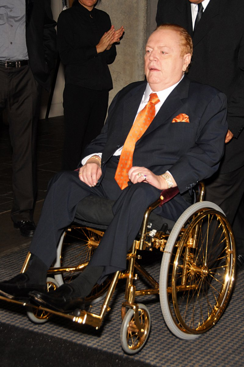 Larry Flynt-12 Celebrities Who Have Been Shot And Lived
