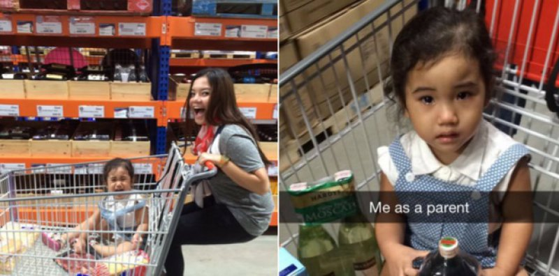 This Mom Who Was Having Fun! -15 Images That Will Make You Say 'Me As A Parent'