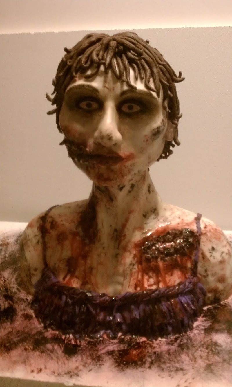 Zombie cake-15 Most Disgusting Yet Hilarious Cake Fails Ever