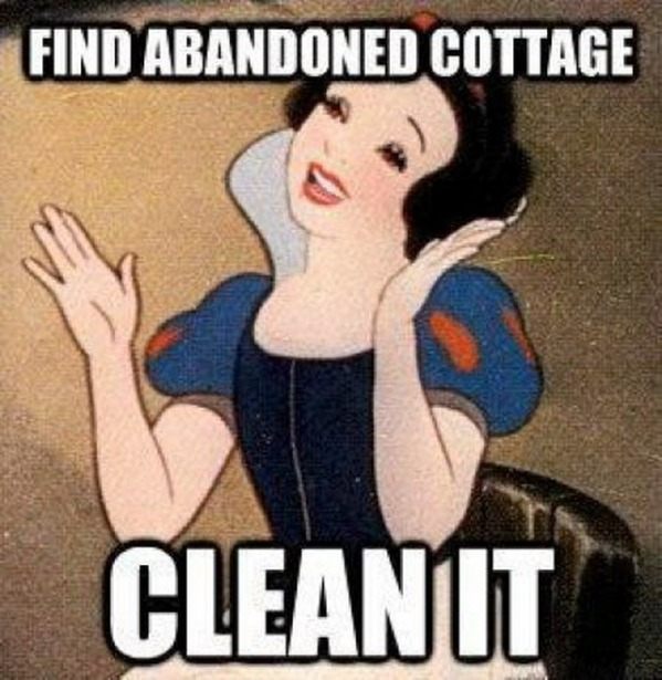 Snow white and the 7 dwarfs-15 Hilarious Disney Memes That Will Make You Lol