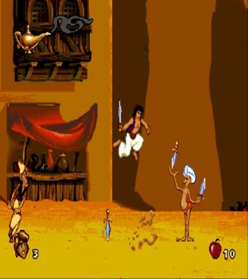 Aladdin the game-15 Best Old But Gold Video Games Of 90's